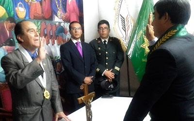 EXITOSA CEREMONIA DE JURAMENTACIÓN DEL CONSEJO REGIONAL DE DECANOS DE CAJAMARCA (CONREDE-CAJAMARCA)