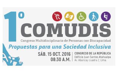 CONGRESO MULTIDISCIPLINARIO DE PERSONAS CON DISCAPACIDAD: PROGRAMA