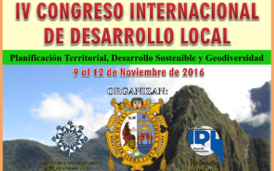 CONGRESO INTERNACIONAL DE DESARROLLO LOCAL