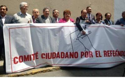 LA ONPE ENTREGÓ EL KIT ELECTORAL PARA EL REFERÉNDUM