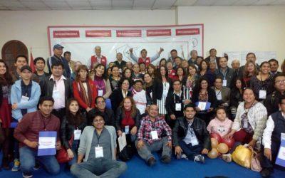 I CONGRESO NACIONAL DEL COMITÉ CIUDADANO ADOPTÓ IMPORTANTES ACUERDOS CON LA PARTICIPACIÓN DE 190 DELEGADOS DE 20 REGIONES.