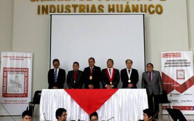 XXV CONGRESO NACIONAL DE ECONOMISTAS EN HUÁNUCO Y TINGO MARÍA.