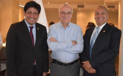 DECANO PRESIDENTE DE LOS COLEGIOS PROFESIONALES DEL PERÚ PARTICIPÓ EN PRIMERA REUNIÓN 2019 DEL ACUERDO NACIONAL