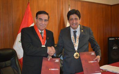 CDCP Y EL CENTRO DE ALTOS ESTUDIOS NACIONALES (CAEN) FIRMARON UN IMPORTANTE CONVENIO DE COOPERACIÓN INTERINSTITUCIONAL