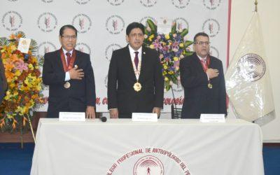 DR. DAVID VERA, DECANO PRESIDENTE DEL CDCP, PRESIDIÓ LA CELEBRACIÓN POR EL 34° ANIVERSARIO DE CREACIÓN DEL COLEGIO PROFESIONAL DE ANTROPÓLOGOS DEL PERÚ