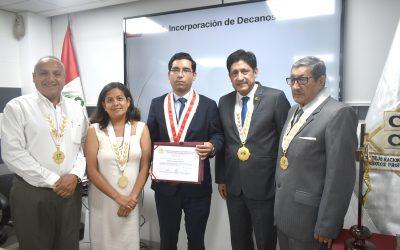 CONSEJO NACIONAL DE DECANOS DE LOS COLEGIOS PROFESIONALES DEL PERÚ JURAMENTÓ A SUS NUEVOS MIEMBROS TITULARES