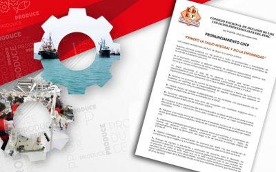CDCP PROPUSO NO LEVANTAR LA CUARENTENA EN LAS ACTUALES CIRCUNSTANCIAS